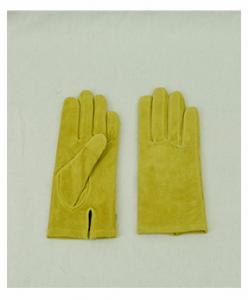 スエード素材 手袋