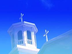 チャペル 青い空