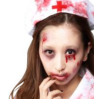 ゾンビメイク 看護師