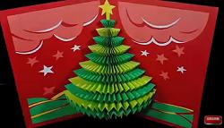 クリスマスツリー 画用紙