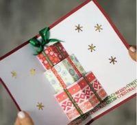 飛び出すクリスマスカード 手作り プレゼント