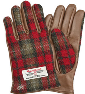 ハリスツイード 手袋
