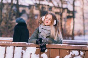 女性 冬 手袋