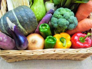 新鮮な生野菜