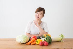 野菜 女性