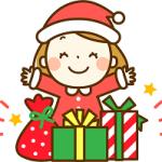クリスマスプレゼント サンタクロース