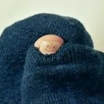 靴下 穴 親指