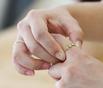 指輪 関節