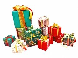 クリスマスプレゼント 贈る