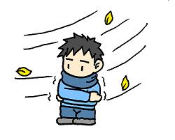 冬 気温差