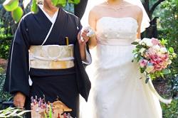 和服 ウエディングドレス