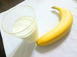 牛乳 バナナ