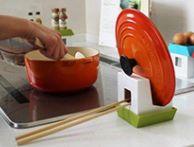 キッチン用品 鍋蓋置き