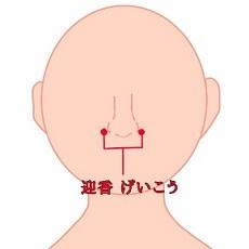 鼻の横 ツボ
