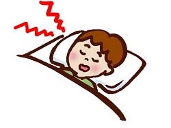 寝る 布団