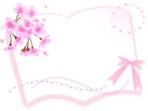 ノート リボン 花