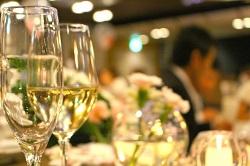 披露宴 ワイングラス