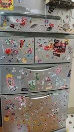 冷蔵庫 シール