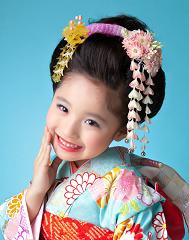 七五三 日本髪 子供