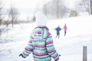 スキー場 女の子
