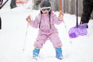 スキー 女の子