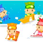 初めての子連れスキー!持ち物や必需品は?スキー場の選び方は?