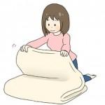 敷布団の洗濯方法。自宅での洗い方。乾かす時間は?