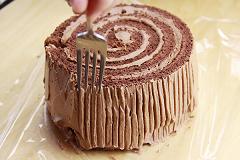 ブッシュドノエル ケーキ
