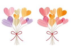 花束 ハート