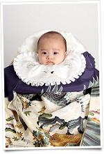 男の子の赤ちゃん 和装