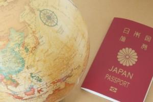 パスポート 地球儀