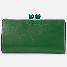 お財布 緑色