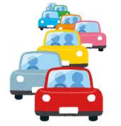 車 渋滞 イラスト