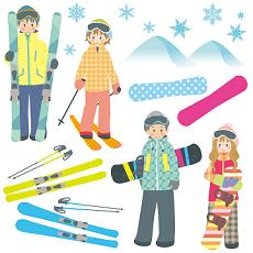 スキー場 小物