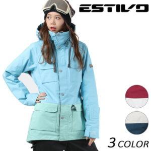 レディース スノーボードウェア ブランド ESTIVO