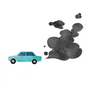 自動車 排気ガス