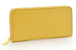 お財布 黄色 ゴールド