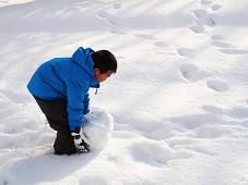 雪遊び 子連れ