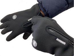スマホ対応手袋 メンズ 撥水素材