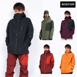 メンズ スノーボードウェア ブランド BURTON