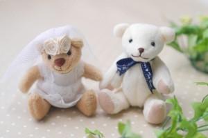クマ ぬいぐるみ 結婚式