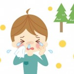 花粉症 男の子 イラスト