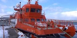 砕氷船ガリンコ号 紋別流氷