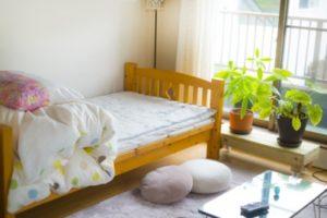 一人暮らし 部屋 ベッド