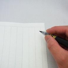 便箋 筆ペン