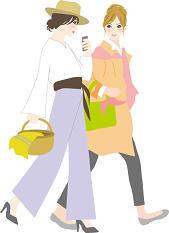 女性 友達 おしゃれ ショッピング