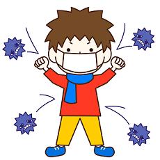 ウイルス 抗体 子供 イラスト