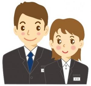 新人 会社員 男女 イラスト