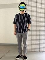 シンプル シャツ パンツ