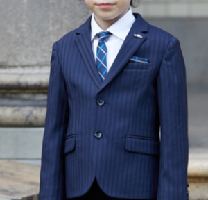 男の子 ネイビースーツ 入学式